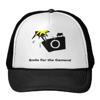 Smile for the Camera! Cap