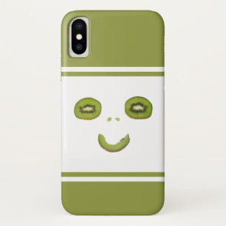 Smile-Funny kiwi fruit iPhone X Case