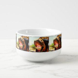 """""""Smile"""" Horse Soup Mug"""