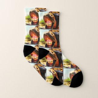 """""""Smile"""" Horse Unisex Socks 1"""