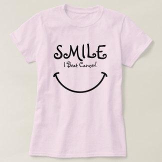 Smile, I Beat Cancer T-Shirt