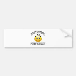 smile if you love a Patent attorney. Bumper Stickers