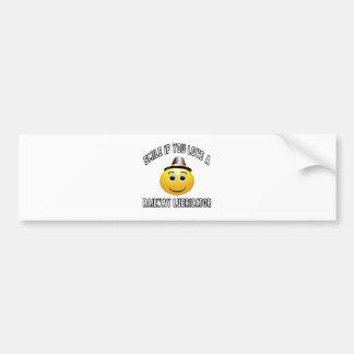 smile if you love a Railway lubricator. Bumper Sticker