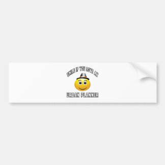 smile if you love an Urban planner. Bumper Stickers