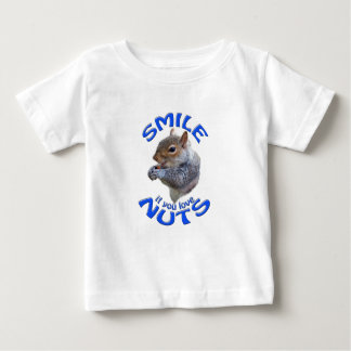 smile if you love nuts baby T-Shirt