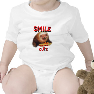 smile if you think i m cute tee shirts