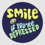 Smile - if you're depressed