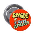 Smile - if you're depressed button