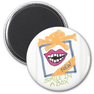 Smile in a Box Magnet