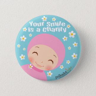 Smile is A Charity Badge