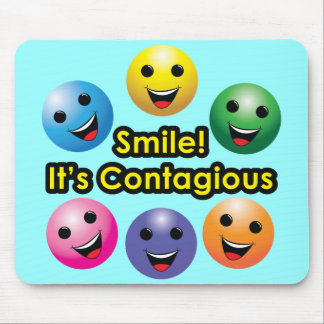 Smile! Its Contagious Mouse Pad