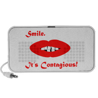 Smile, It's Contagious Laptop Speakers