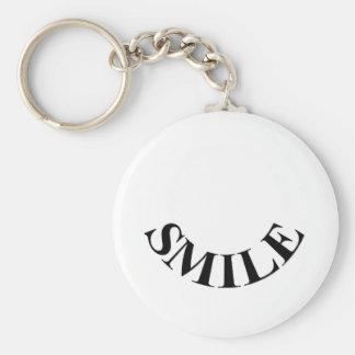 Smile (it's free) key chains