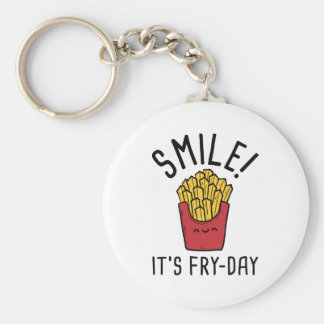 Smile! It's Fry-Day Key Ring