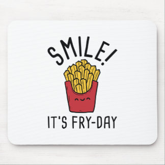 Smile! It's Fry-Day Mouse Pad