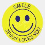 Smile Jesus Loves You Autocollants