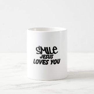 Smile Jesus Loves You Mug