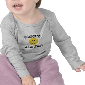 Smile...Love a Cancer Survivor T-shirts