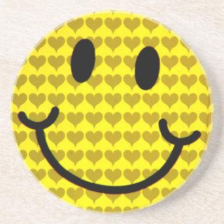 Smile of Love_ Beverage Coasters