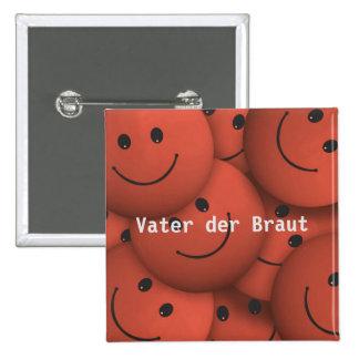 Smile orange button