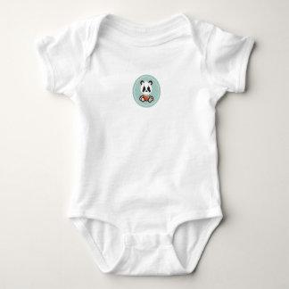Smile Panda Baby Bodysuit