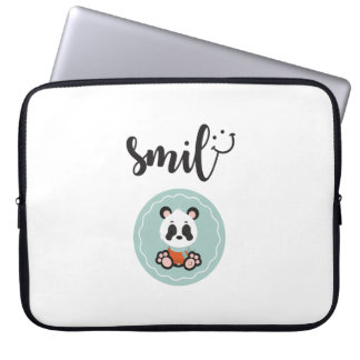 Smile Panda Electronics Bag