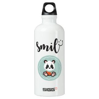 Smile Panda Water Bottle
