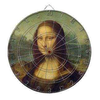 smile peace joy Mona Lisa Leonardo da_Vinci Dart Board