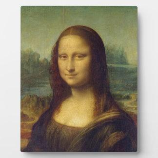 smile peace joy Mona Lisa Leonardo da_Vinci Photo Plaques