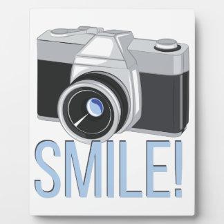 Smile Photo Plaque