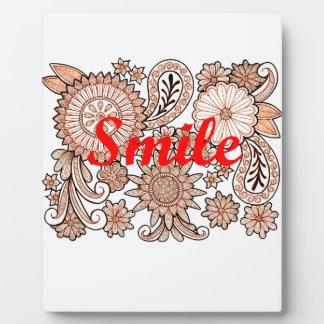 Smile Plaque