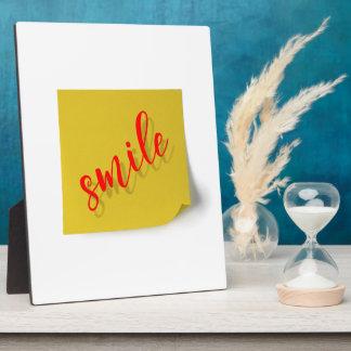 smile plaques