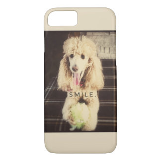 Smile Poodle Cell Phone Case