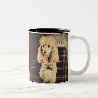 Smile Poodle Mug