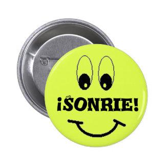 smile, Sonrie! 6 Cm Round Badge