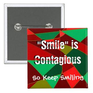 Smile Square Button