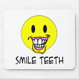 Smile Teeth Mouse Pad