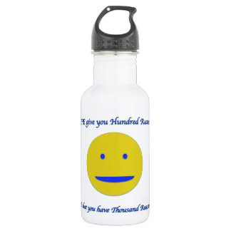 Smile to life 532 ml water bottle
