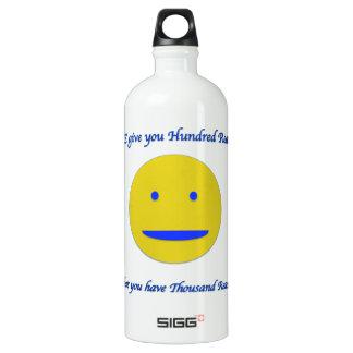 Smile to life SIGG traveller 1.0L water bottle
