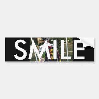 SMILE VINATGE BUMBERSTICKER BUMPER STICKER