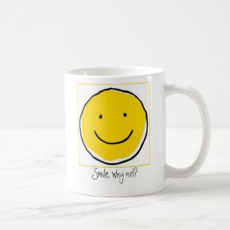 Smile, why not?  Coffee Mug