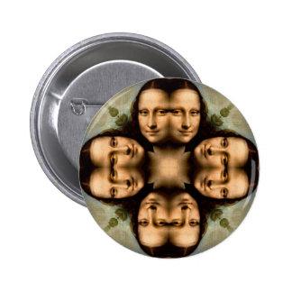 Smile with Mona Lisa Pins