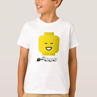 Smile yellow Head Kids T-shirt
