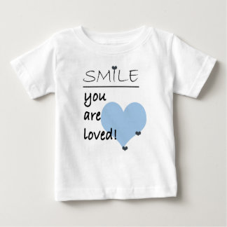Smile you are Loved Baby T-Shirt