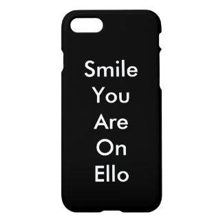 Smile You On Ello iPhone 8/7 Case