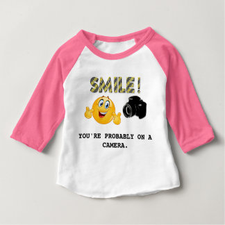 Smile! You're probably on a camera T-Shirt