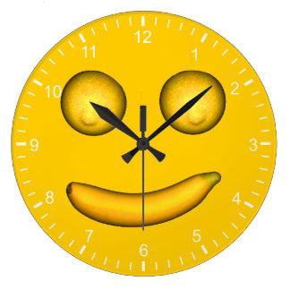 Smilemonana Large Clock