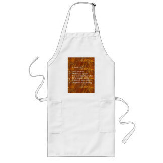 Smiles are Contagious Long Apron