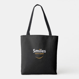 Smiles on the Camino tote bag