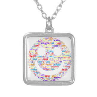 Smiles Silver Plated Necklace